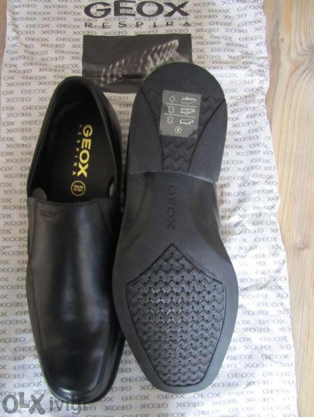 Нови юнушески/мъжки обувки Геокс - Geox Leather Loafers - размер 38