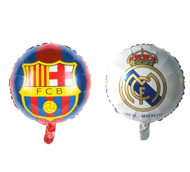 Фолиеви балони Barcelona и Real Madrid