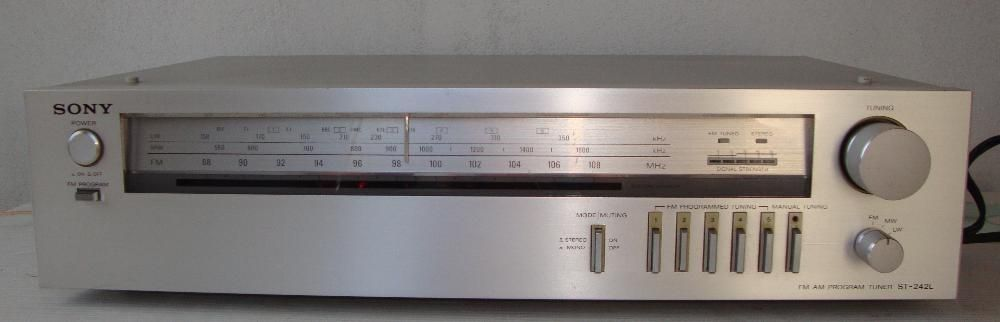 Tuner, receiver, radio Sony ST-242L Made in Japan de colectie