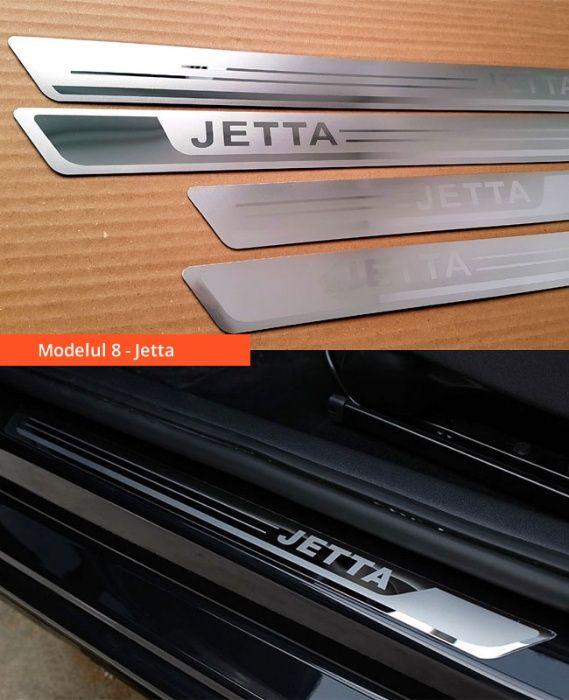 Ornamente inox praguri (9 modele) -VW Golf 4-7, Passat B6 B7 B8, Jetta Bucuresti - imagine 8