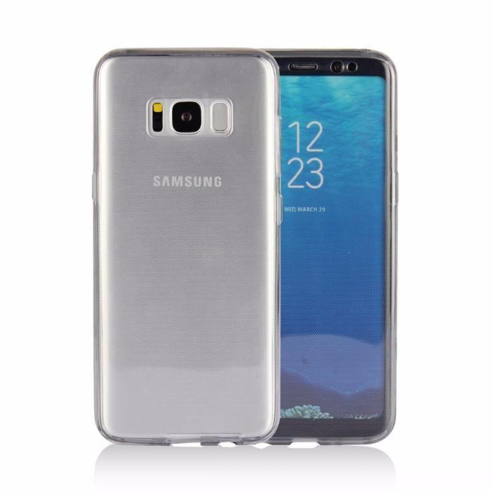 Husa 360 Fata/Spate Silicon Clar Samsung S8 S8 Plus S9 S9 Plus