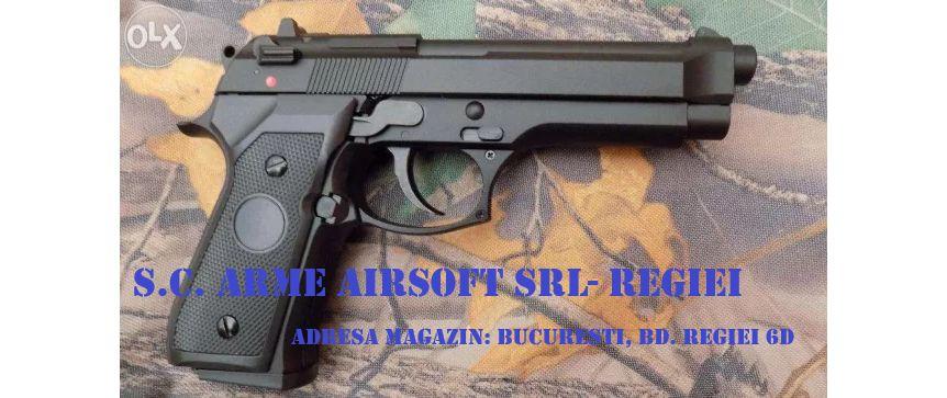 Pistol BERETTA M92 /Aer comprimat/Green Gas/ Produs Nou Bucuresti - imagine 1