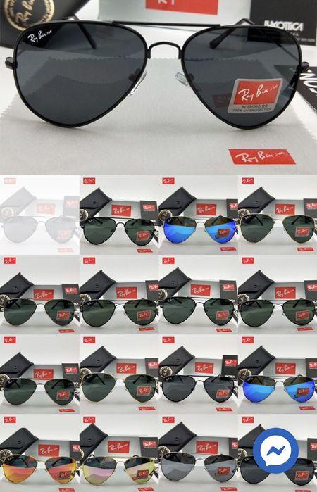Ray Bin óculos de sol Piloto Aviador