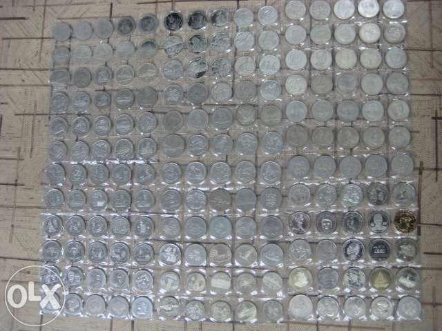 КОЛЛЕКЦИЯ монет (180 шт) медно-никель