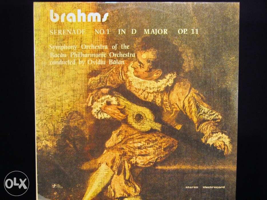 Disc vinil pik-up BRAMS Serenade No.1 D Major OP.11 - Electrecord 1986