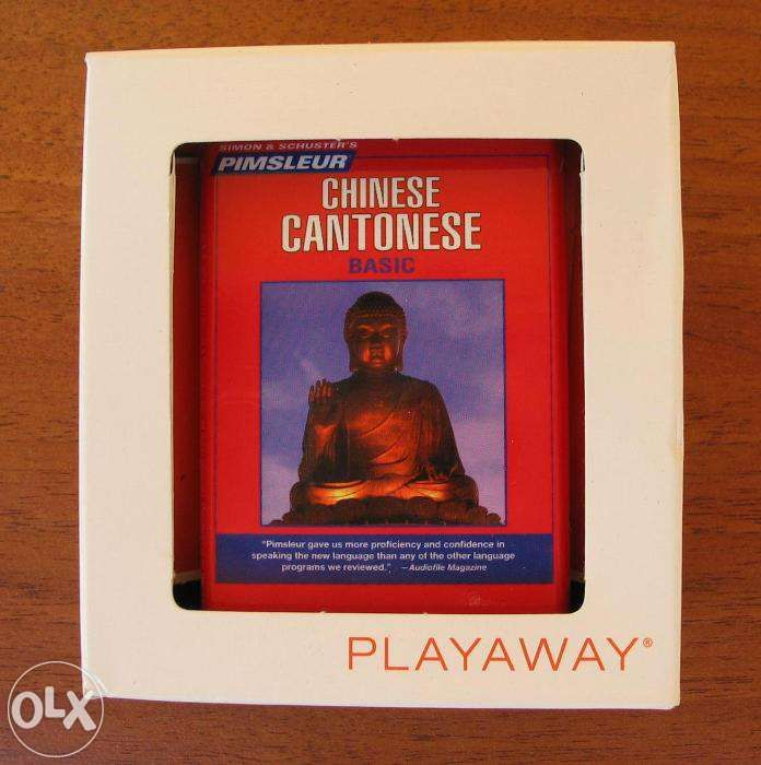 Simon & Schuster's Pimsleur CHINESE CANTONESE Basic PLAYAWAY