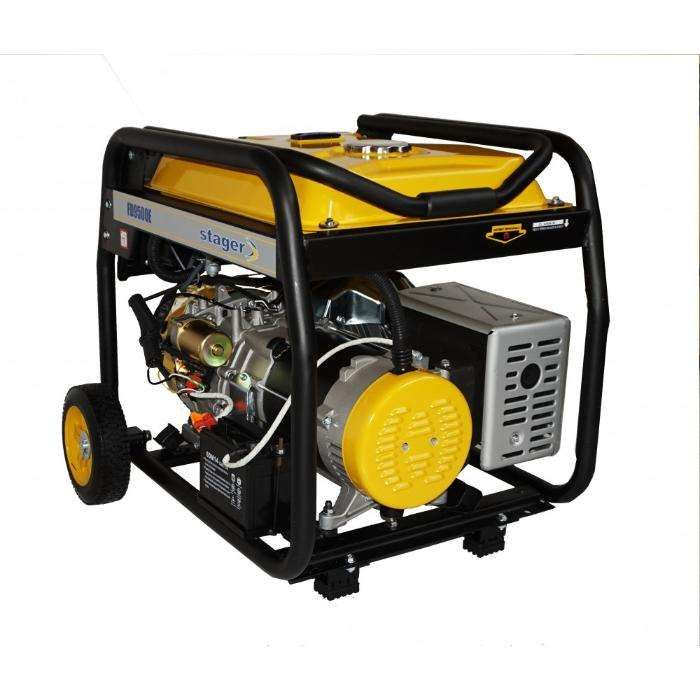Generator Curent Stager FD10000E-Putere 8kW-Pornire Electrica-Pe Stoc