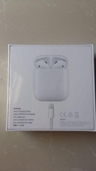 Venda de auriculares Ipod novo e na caixa. Do mercado europeu.