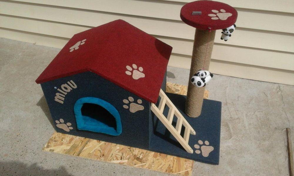 Casuta pisici(SISAL)-SUPER OFERTA!!! Pitesti - imagine 1