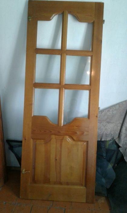 Дверь на балкон 212×80см.