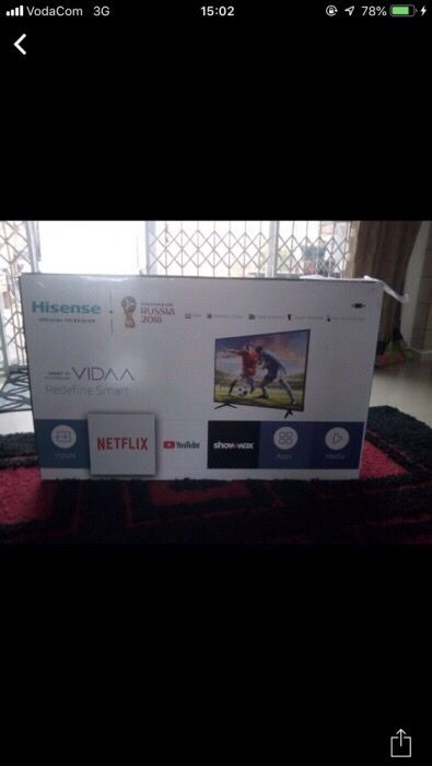 Smart Tv Hisense 32 Polegadas FULL HD SELADAS em Stock Entregas