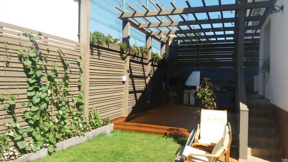 pergole si terase din lemn stratificat, elemente din lemn