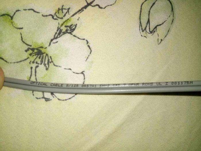 Cablu optic 13 m 9/125 sm 2 8*5 ROHS Bucuresti - imagine 1