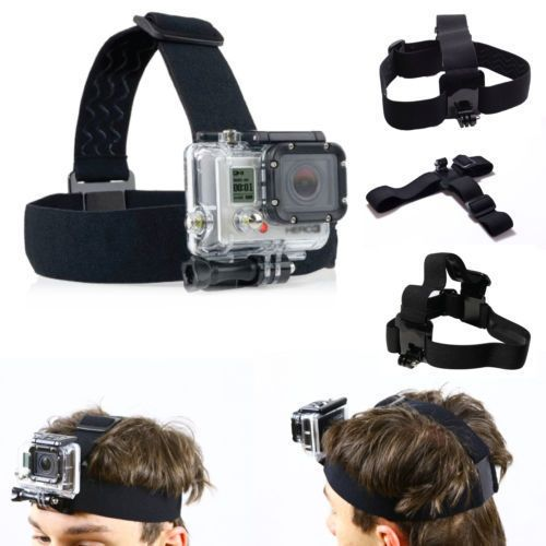 Универсална Go Pro Hero Head Strap, лента, челник, стойка, гопро gopro