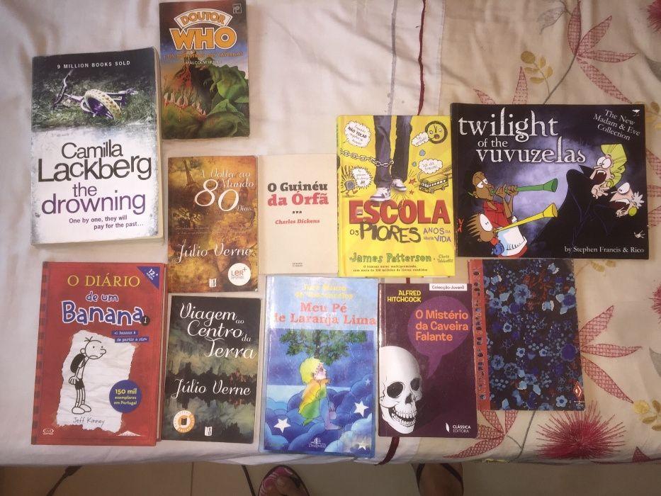 Livros de leitura recreacional
