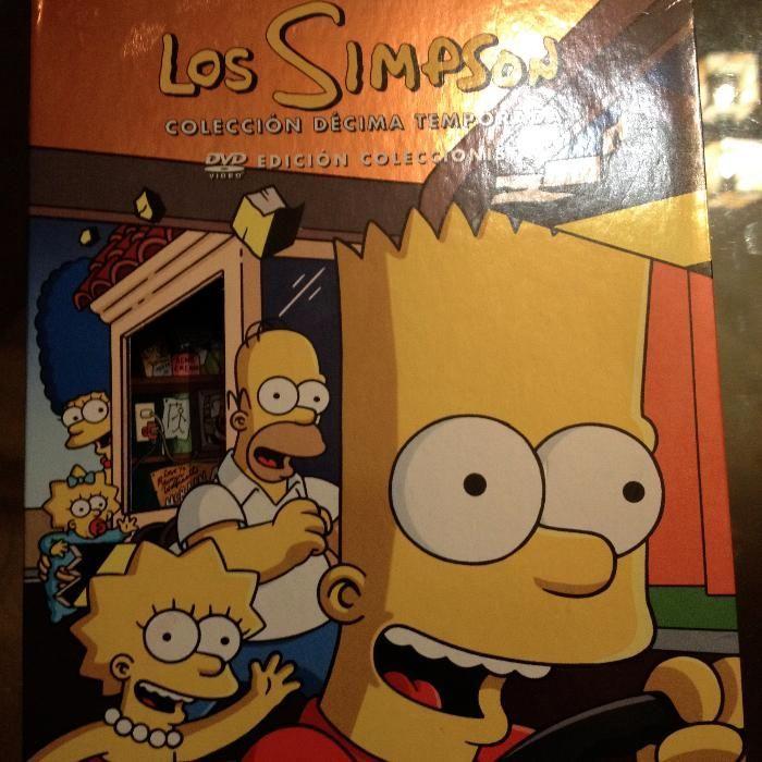 Vand colectie de dvd-uri cu Familia Simpson (varianta spaniola)