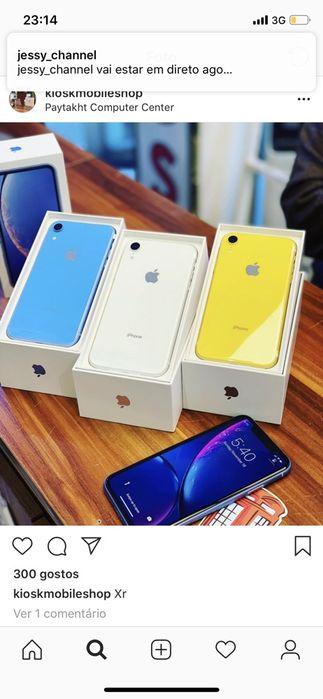 IPhone XR 64gb : Dubai stock : sem restrição : fala em todos países