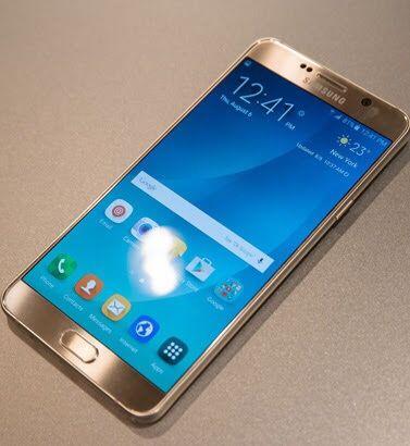 Galaxy Note 5 novo