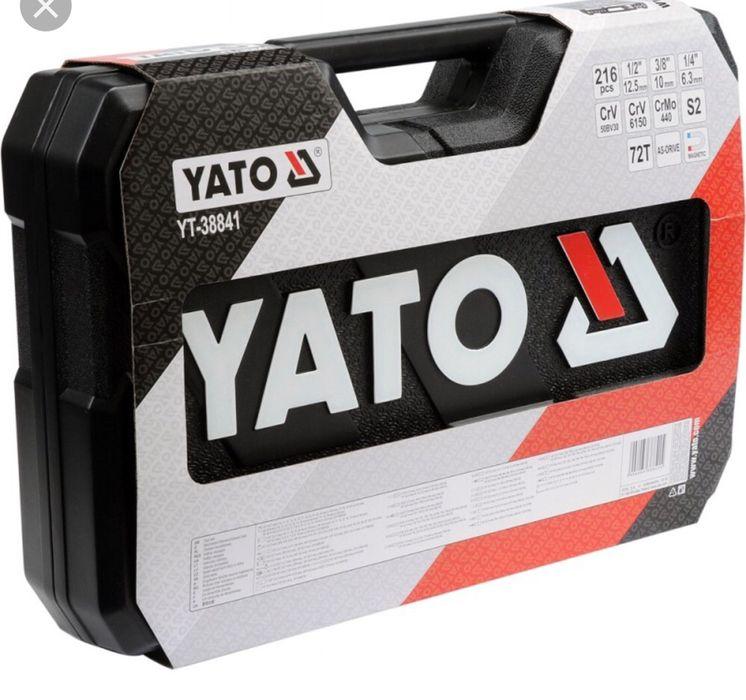 Trusa YATO YT-38841 ,sigilata,XXL 216 piese
