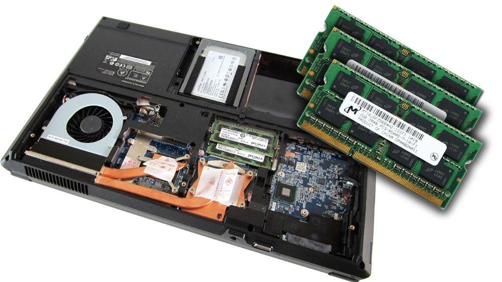 Diversas Memórias para Computadores Portátil