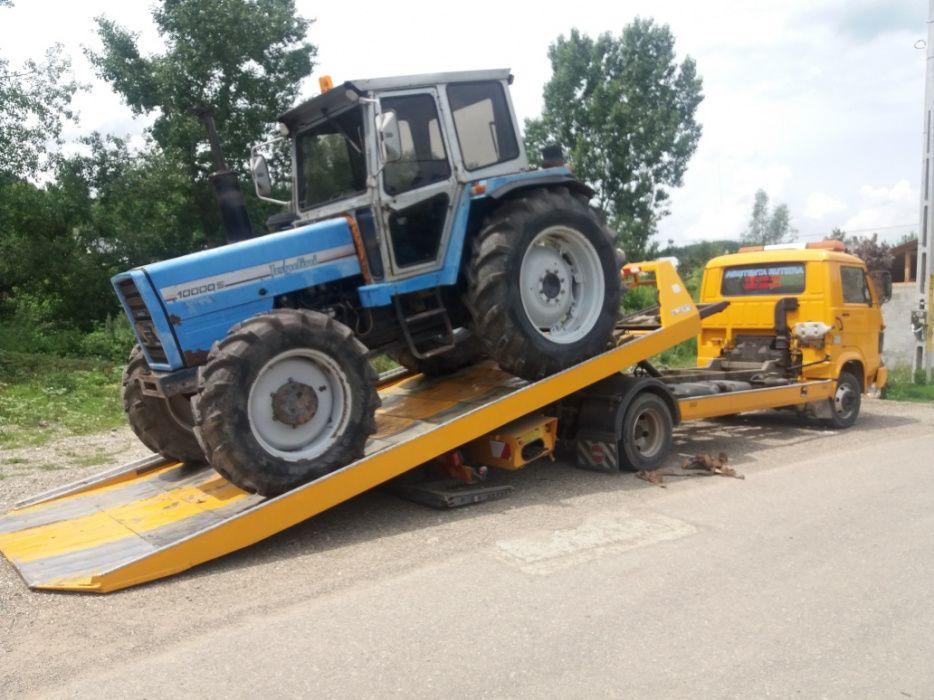 O74439O2OO Platformă auto hidraulica Transport utilaje Tractari auto