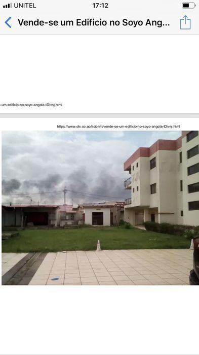 Vende-se um edifício no Soyo Angola