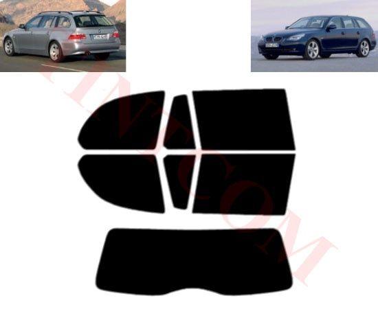 BMW 5 серия Е61 (5 врати, комби, 05-09) Фолио за затъмняване на стъкла