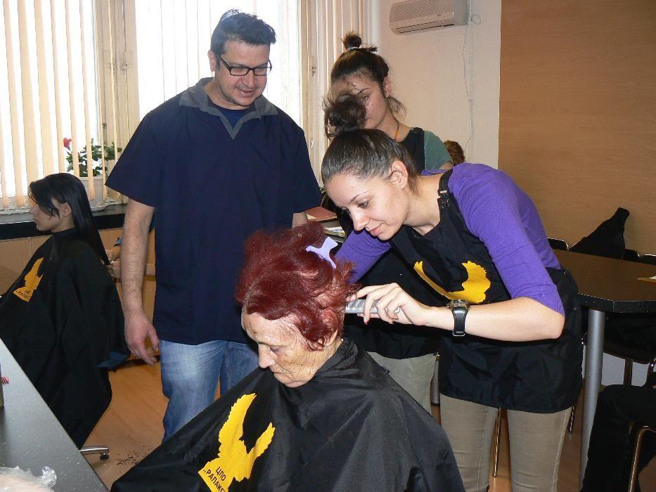 Фризьорски курсове в София, курс за фризьори, курс фризьорство, фризьо