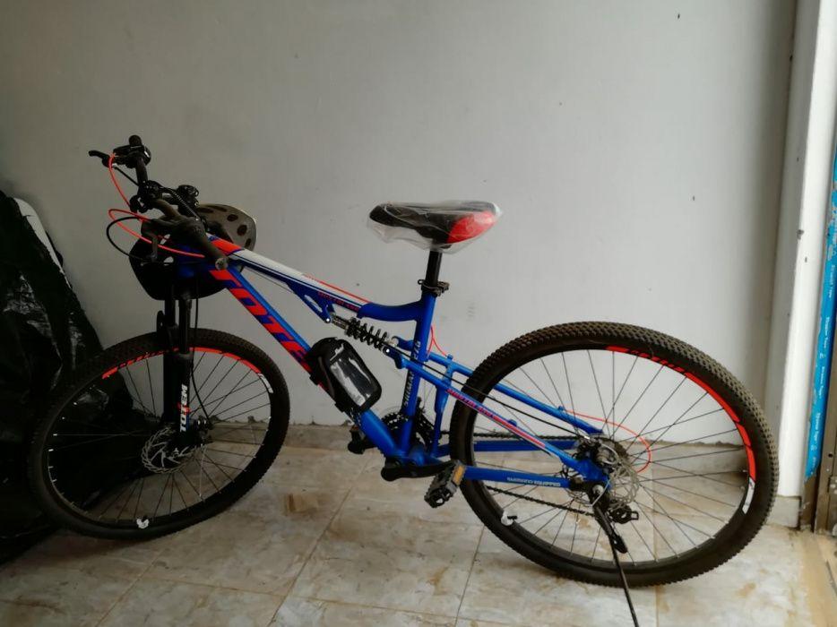 Bicicleta azul nova Alto-Maé - imagem 2