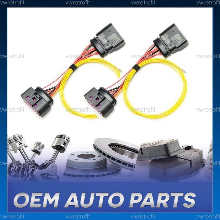 Mufe adaptoare pentru faruri LED XENON OEM VW Golf 6 VI Jetta MK6