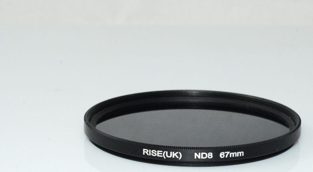 Filtru ND8 67mm nou