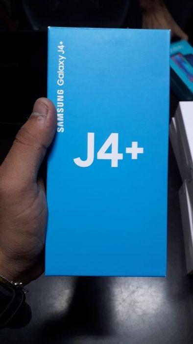 Galaxy J4 +plus novo selado na caixa com 32 gb Bairro Central - imagem 1