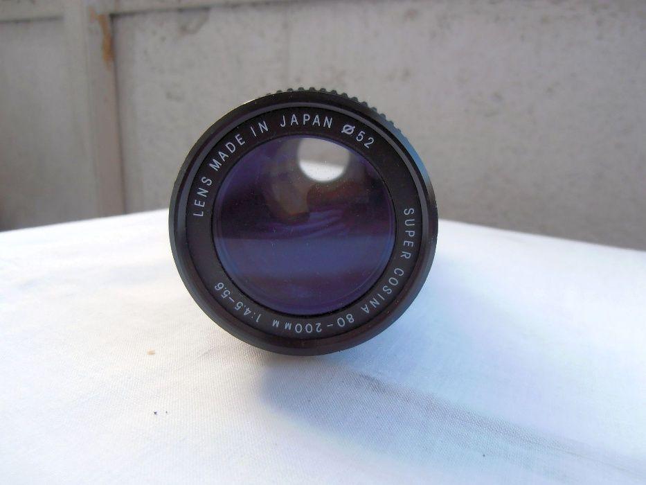 2 obiective foto pentru Canon FD Exakta 35-70 si Cosina 80-200