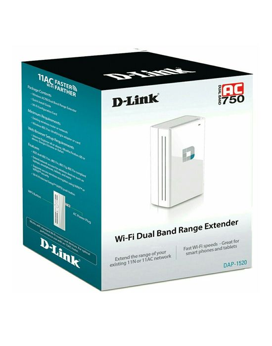 Wireless D-link ,1520 ,Dual-Band,AC 750Mbps.