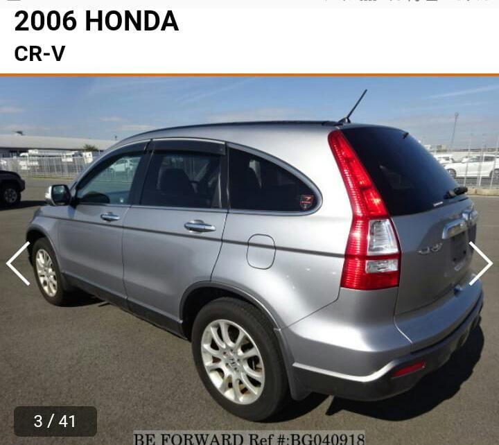 Honda CRV 2006 new