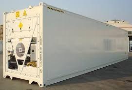 Contentores frigoríficos 20 e 40 Pés (Câmara frigorífica)
