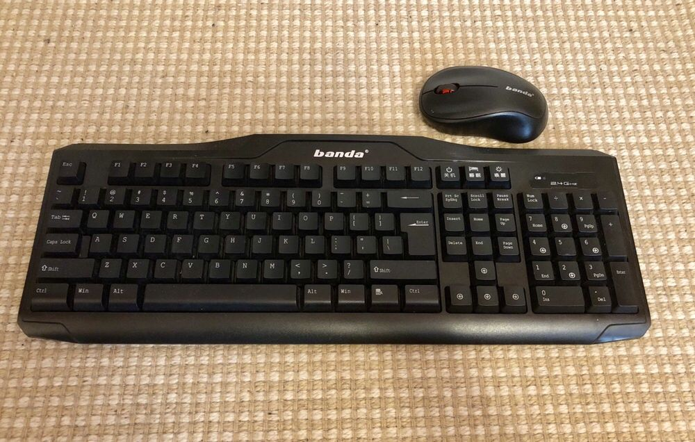 Wireless Keyboard + Mouse