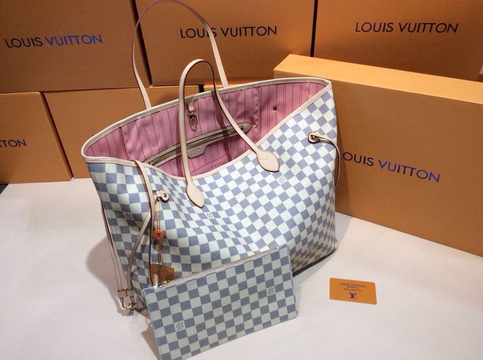 Geanta Louis Vuitton/certificat autenticitate/bom fiscal/piele natural