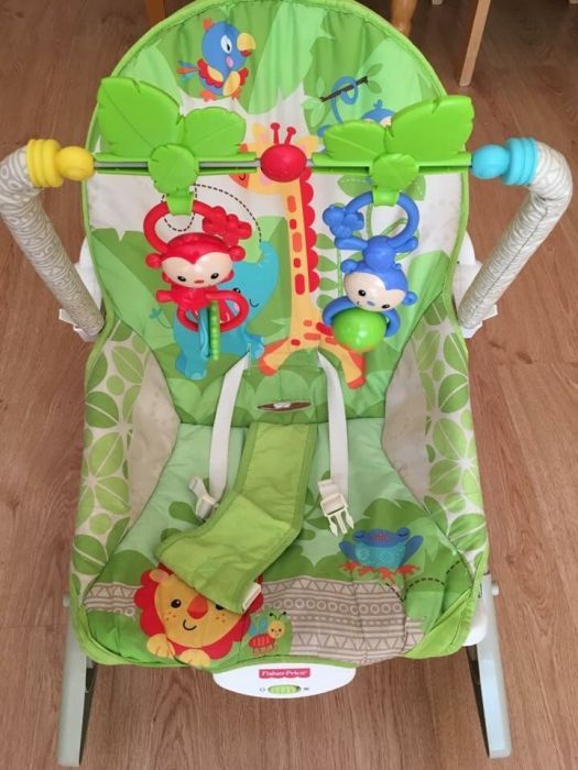 Шезлонг Fisher Price Rainforest Friends