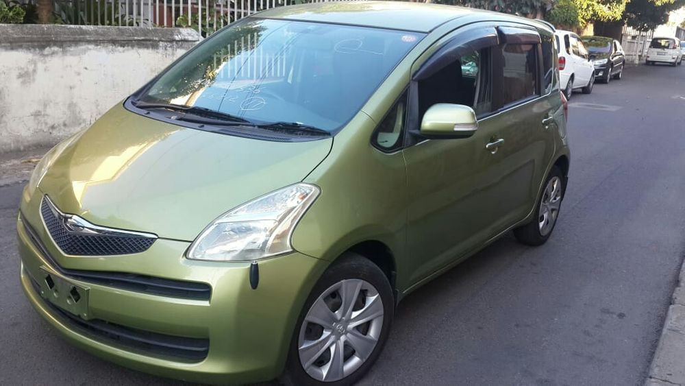 Toyota Ractis novo uma semana em maputo