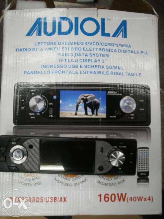 Dvd audiola , mp3, ecran 3 inch si intrare de card