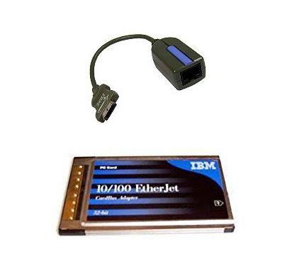 Adaptor retea IBM 08L3160 10/100 Ethernet PCMCIA 32bit Cardbus Adapter