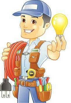 Há electricista.