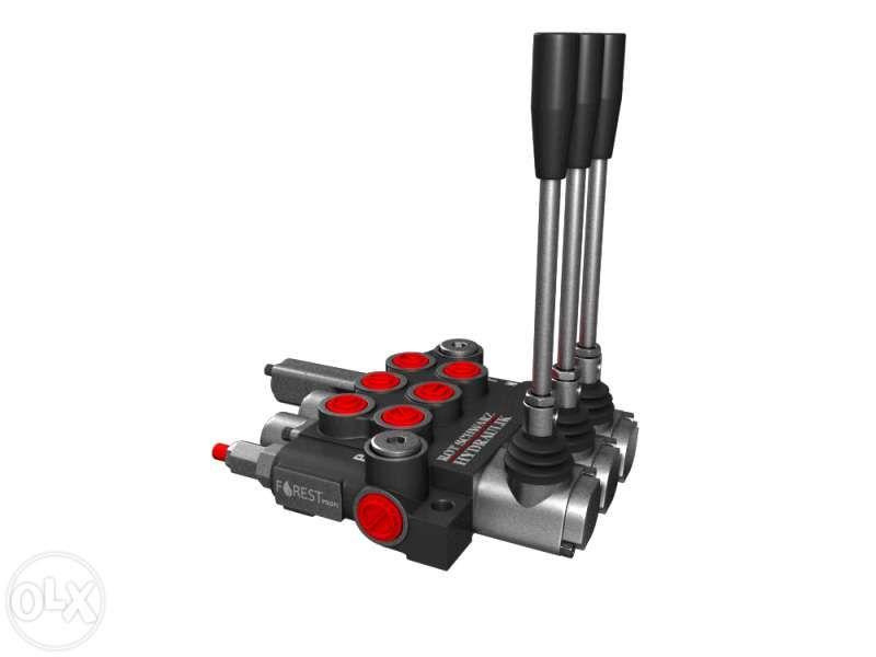 Distribuitor hidraulic 40 l/min 3 sectiuni cu flotant