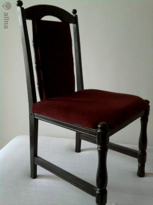 Шест стола и разтегателна маса- масив