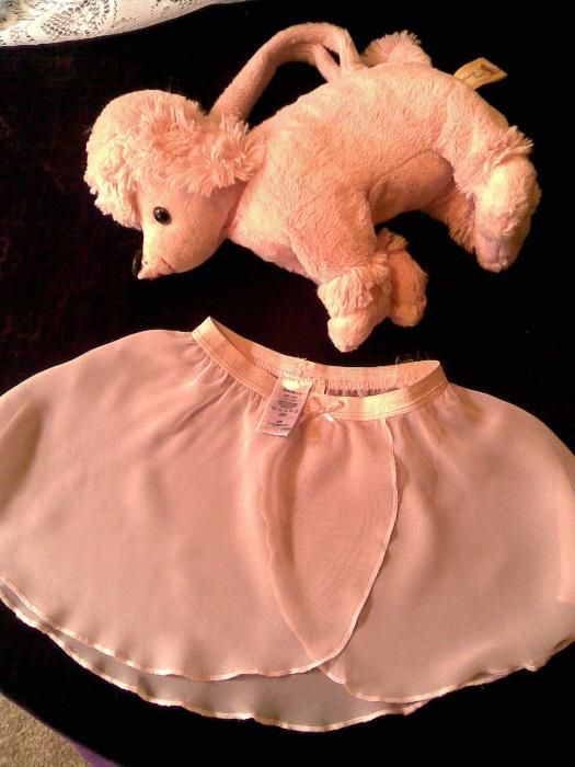 """Розов лот от чанта-кученце, нова копринена поличка""""H&M"""", марабу и клин"""