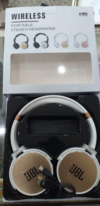 JBL Wireless Handsfeee mic Portable Stereo Headphone