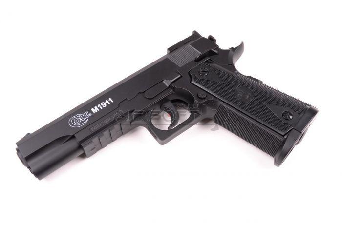 Pistol airsoft CO2 replica Colt 1911 puternic gaz