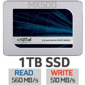 SSD 1TB sata Crucial Mx500