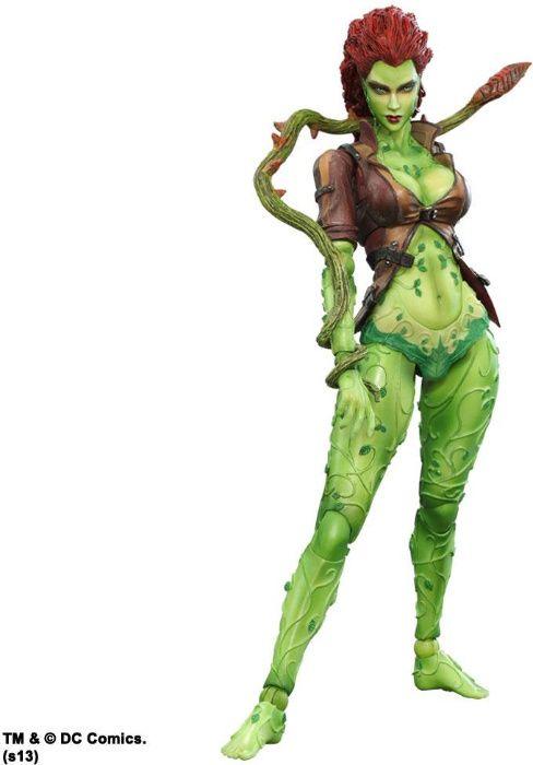 Figurina Square Enix Play Arts Kai Arkham City Poison Ivy